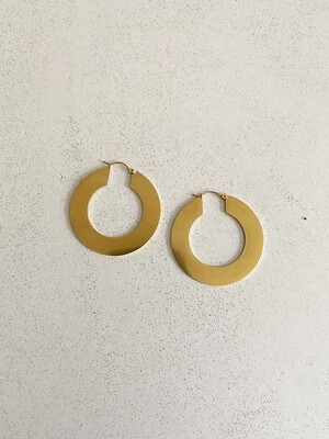 By LC Studio Flat hoop earrings