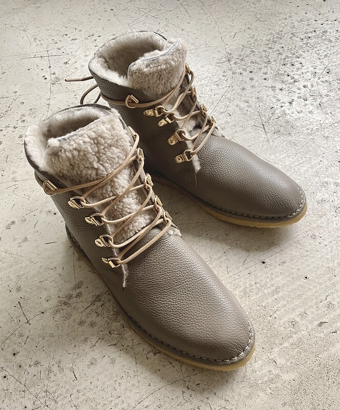 Maluo Bente Boots Taupe