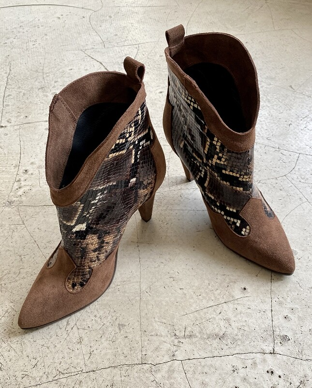 by LC studio  Crilu' Boots Brown