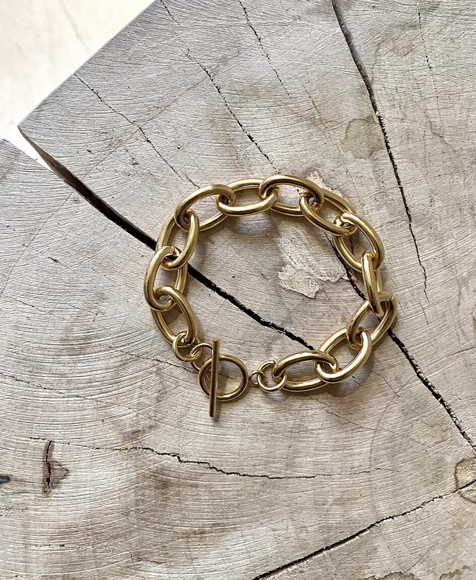 by LC studio Vintage Style Chain Bracelet