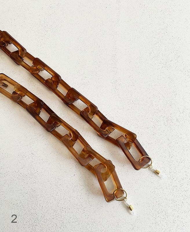 Eyeglass holder chain
