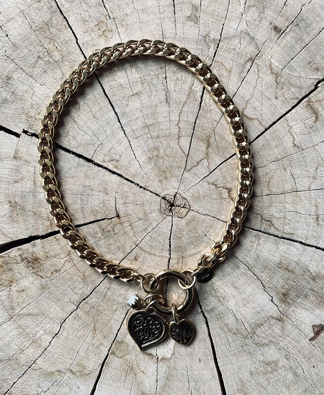 SABRINA C. Chain Necklace Harts