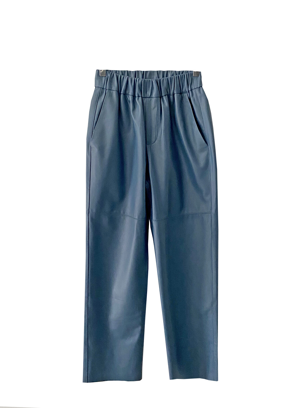 by LC studio Leather Trousers Blue