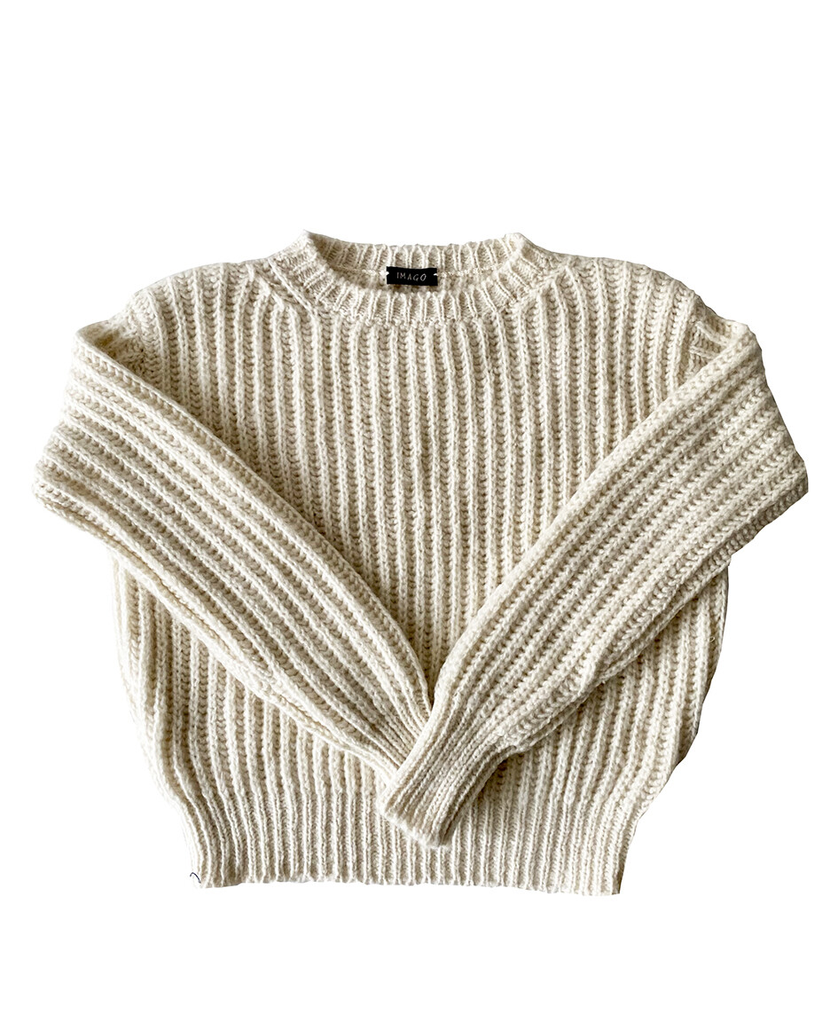 Imago Double Knit Cashmere Jumper
