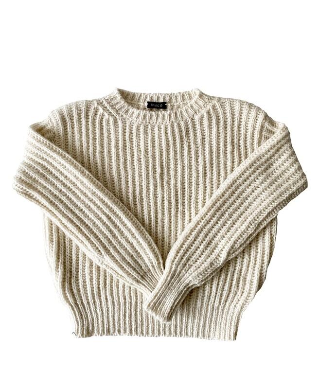 Imago Double Knit Cashmere Jumper