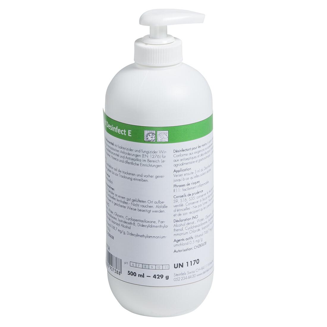 Alcohol-based hand sanitizer 500ml