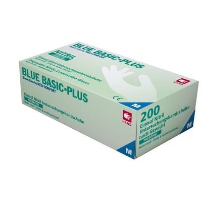 BLUE BASIC PLUS NITRILE - 200 pz (S/M/L)