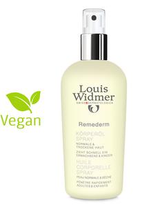 WIDMER REMEDERM Body oil spray Parf 150 ml