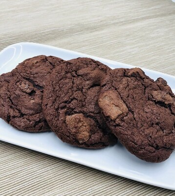 1 Dozen Wrapped Cookies (Chocolate Lovers)