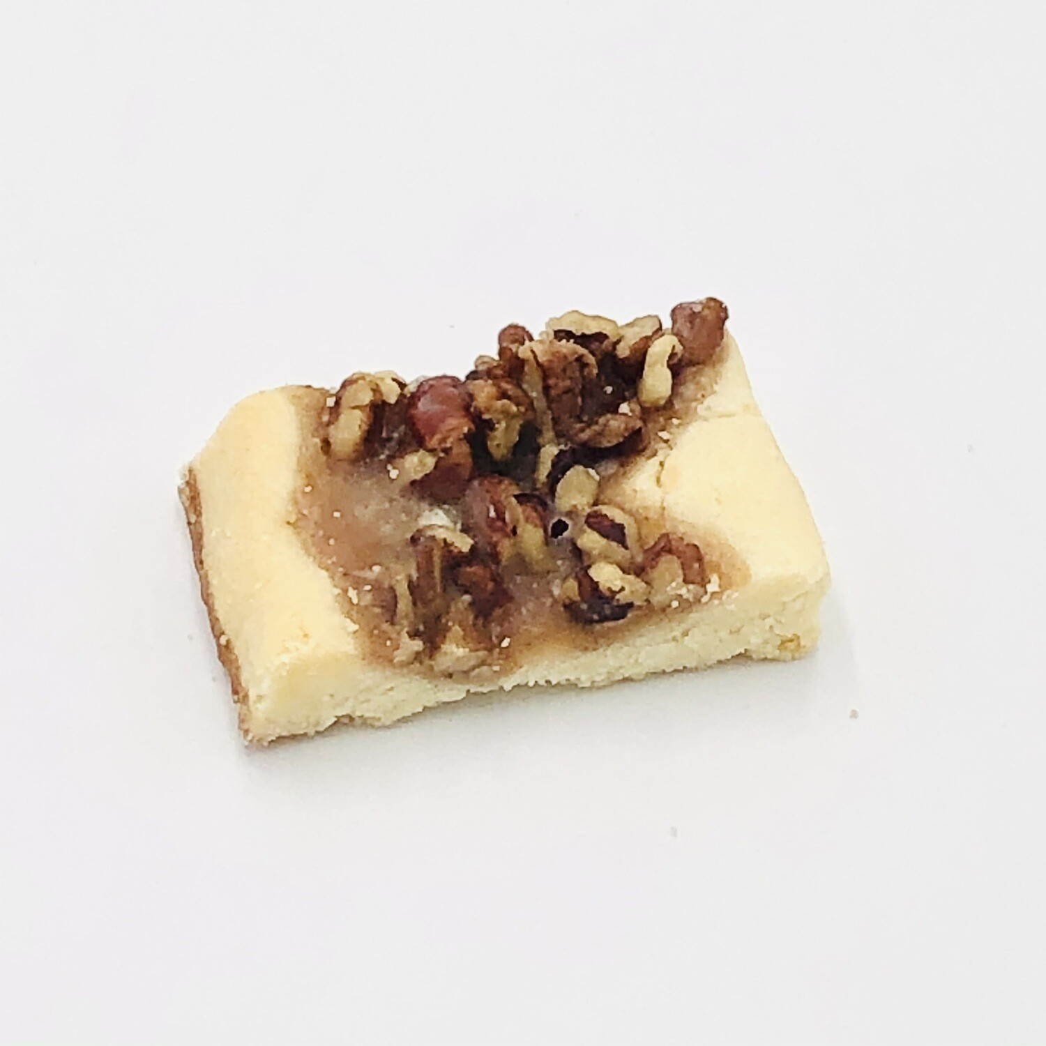 Pecan Shortbread Cookie With Praline Topping