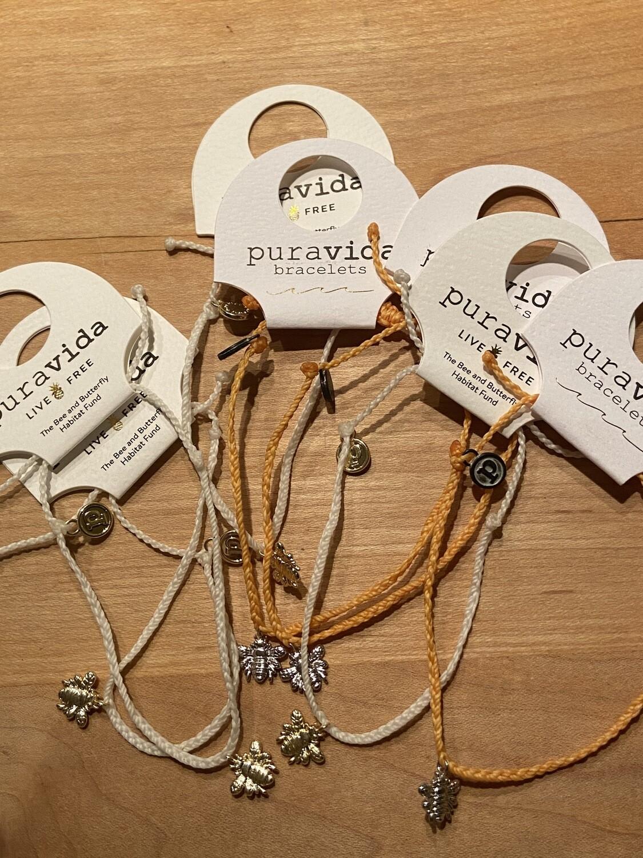 Pura Vida Save the Bees Charm Bracelet