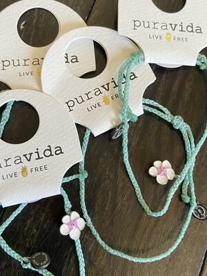 Painted Plumeria Bracelet