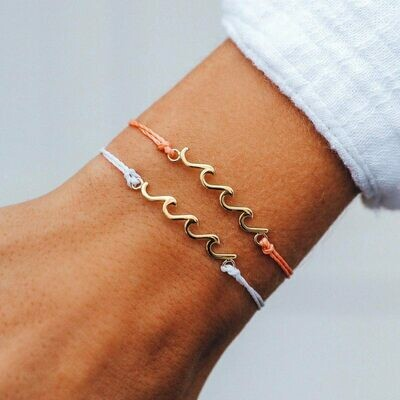 Delicate Wave Charm
