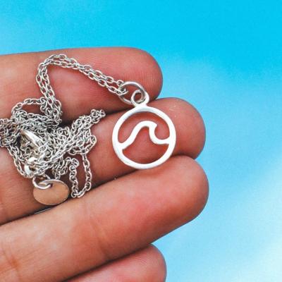 Pura Vida Open Wave Necklace