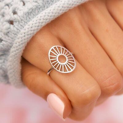 Pura Vida Sunburst Ring