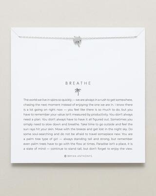 Bryan Anthony Breathe Necklace