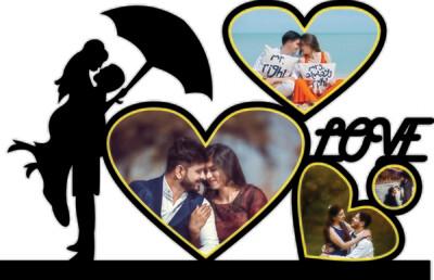 Love Couple Photo Cutout