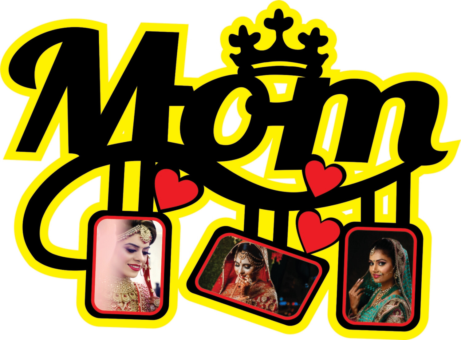 Mom Queen Photo Collage