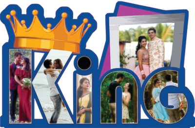 King Name Photo Collage