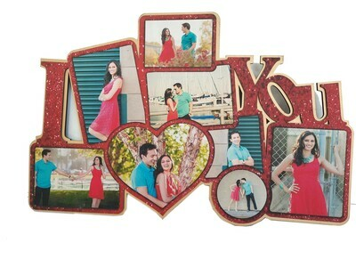 I Love You Photo Collage
