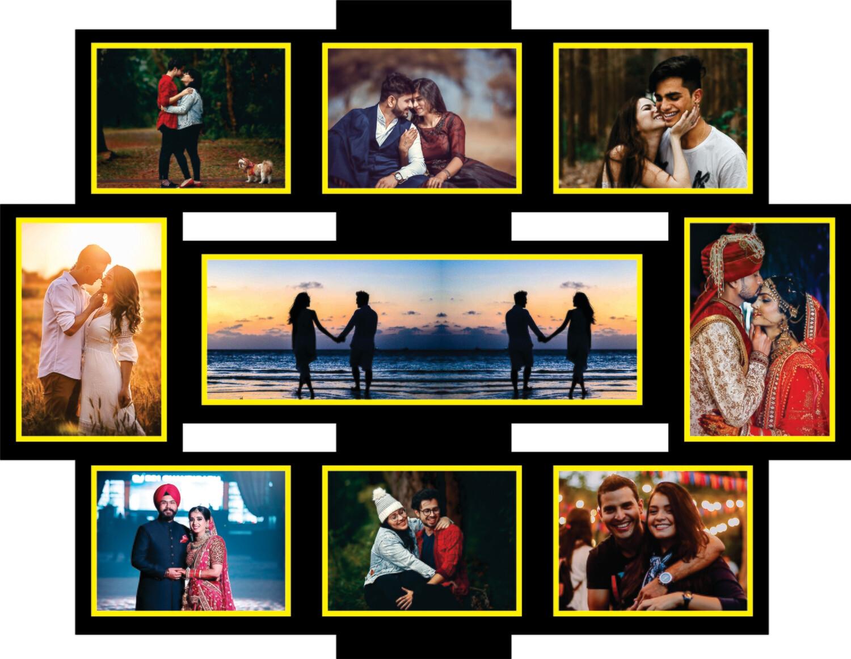 Couple Photo Collage