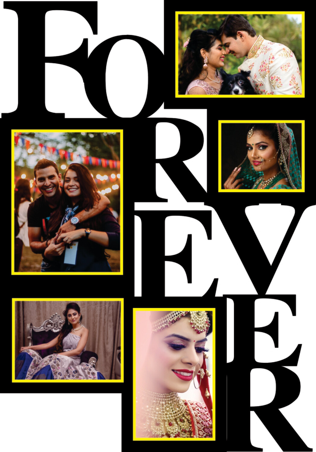 Friends Forever Photo Collage