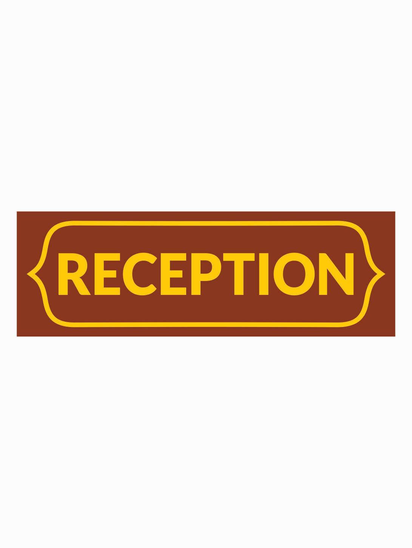 Acrylic Name Plate Reception Counter Design  MT 20101