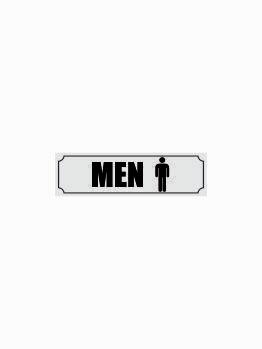 Acrylic Name Plate Facilities Men Design