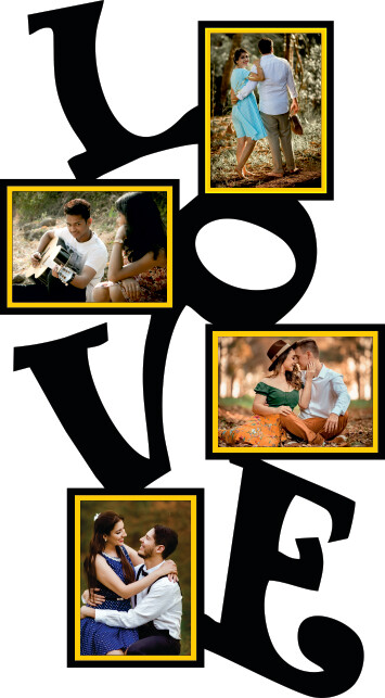 Love Photo Collage (MT 20016)