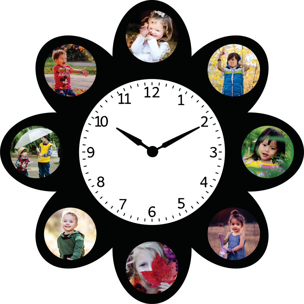 Clock With Photo Collage (MT 20032)