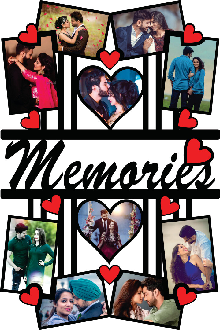 Photo Collage With Memories (MT 20037)