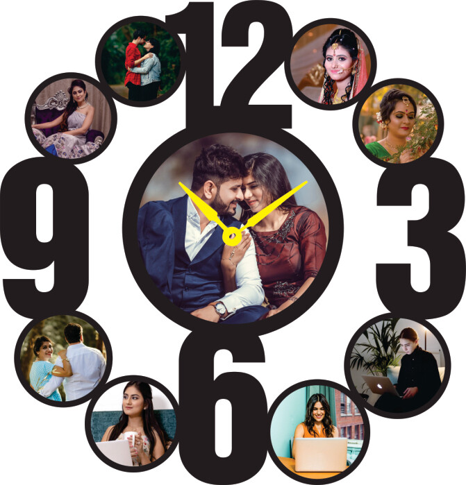 Photo Collage With Clock (MT 20020)