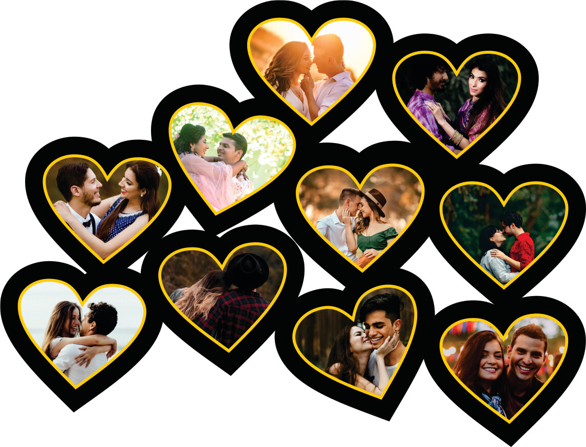 Heart Photo Collage (MT 20021)