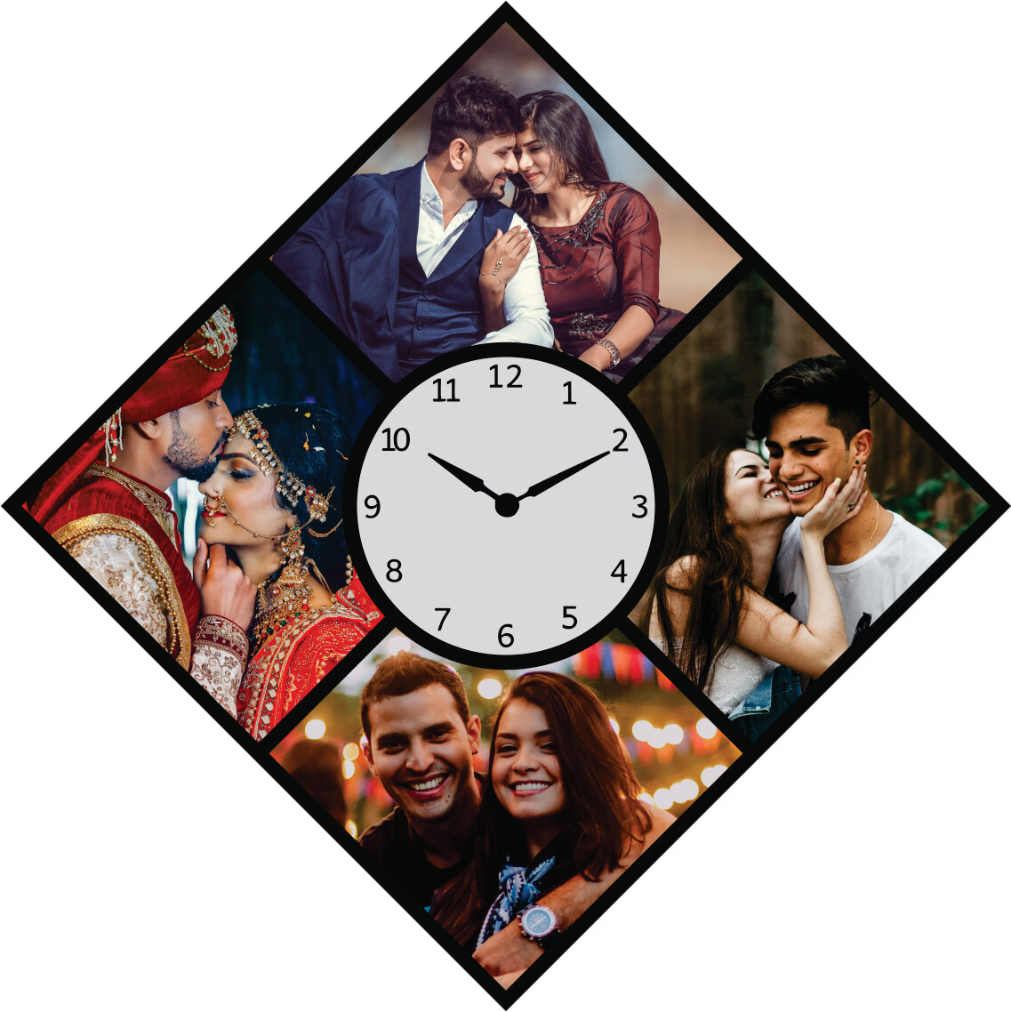 Wall Clock With Photo (MT 20033)