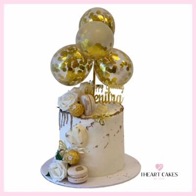 Signature Cake & Balloons