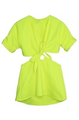 KAIA NEON DRESS