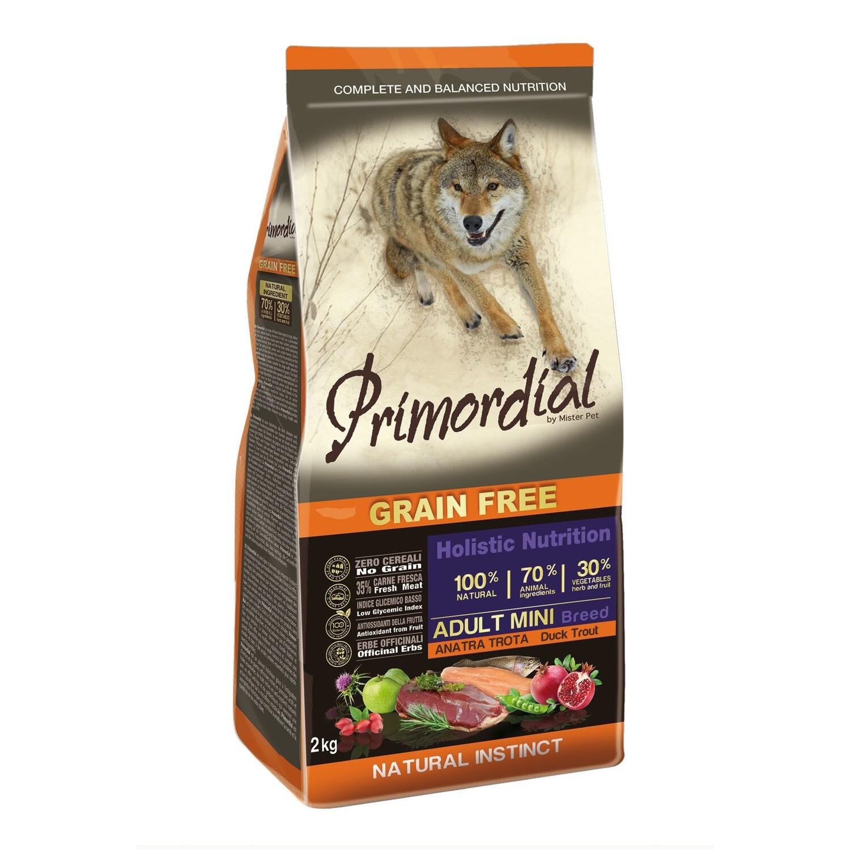 Primordial корм д/собак Мини форель/утка 2 кг