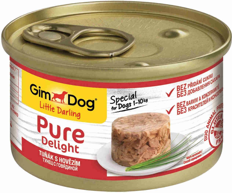 GimDog Pure конс д/собак тунец говядина 85 г