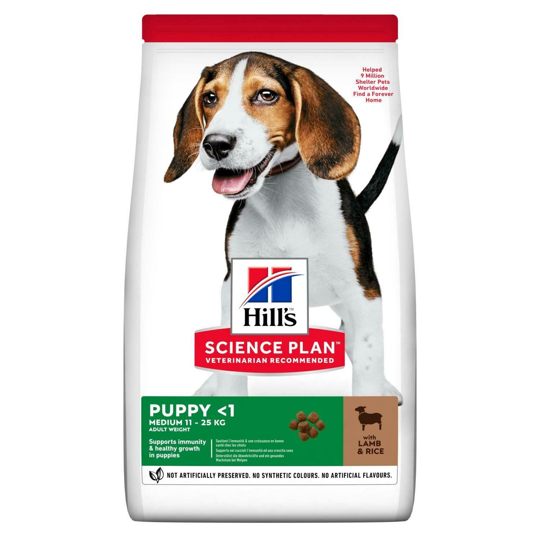 Hill's SP Puppy д/щенков всех пород Ягненок 12 кг