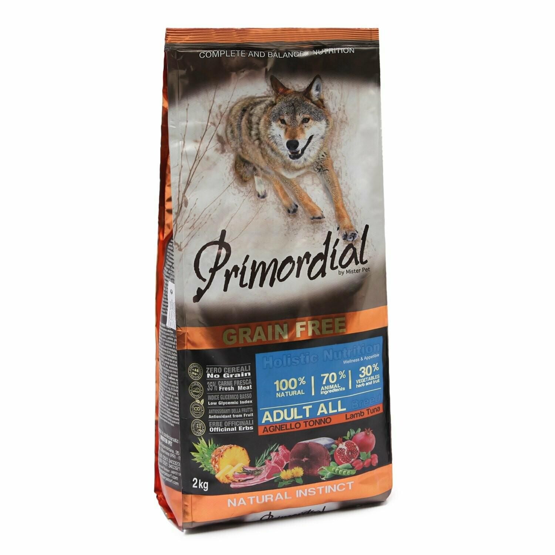 Primordial корм д/собак тунец/ягненок 2 кг