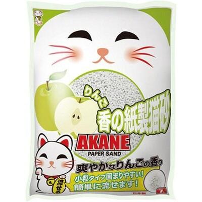 Наполнитель Akane бумажный комкующийся Яблоко 7 л