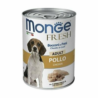 Monge Dog Fresh Chunks конс д/собак курица 400 г