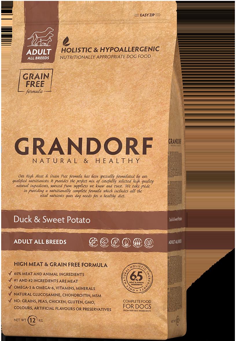 Grandorf Dog Duck д/собак утка картофель 1 кг