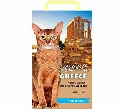 Наполнитель Savanna Greece свежесть впитывающий 8 кг