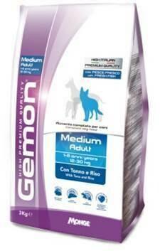 Gemon Dog Medium д/собак средних тунец 3 кг
