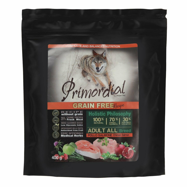 Primordial корм д/собак курица/лосось 400 г