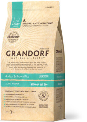 Grandorf Cat Probiotic Indoor д/кошек домашних 400 г