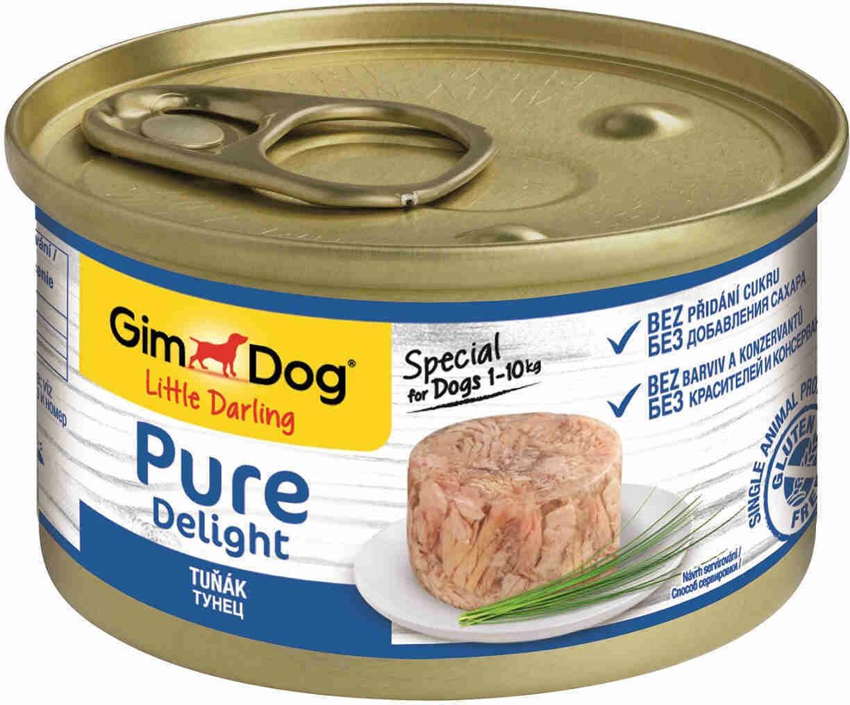 GimDog Pure конс д/собак тунец 85 г