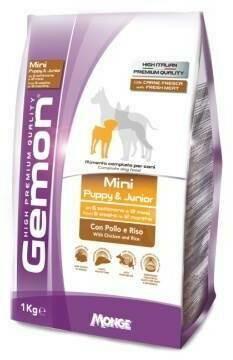 Gemon Dog Mini д/щенков мелких курица 1 кг