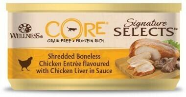 Core Signature конс д/кошек курица печень фарш 79 г